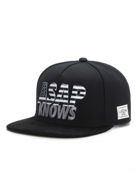 ASAP KNOWS - Snapback Cap - schwarz / weiß - Cayler & Sons