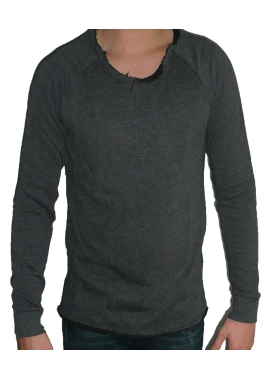 BASIC - Sweatshirt Herren - schwarz mixed - Boom Bap