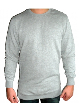 SIDE ZIP - Sweatshirt Herren - grau - Urban Classic