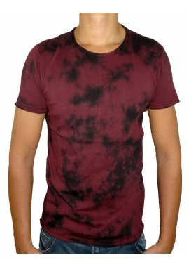 ACID - T-Shirt Herren - rot / schwarz - Shine Original