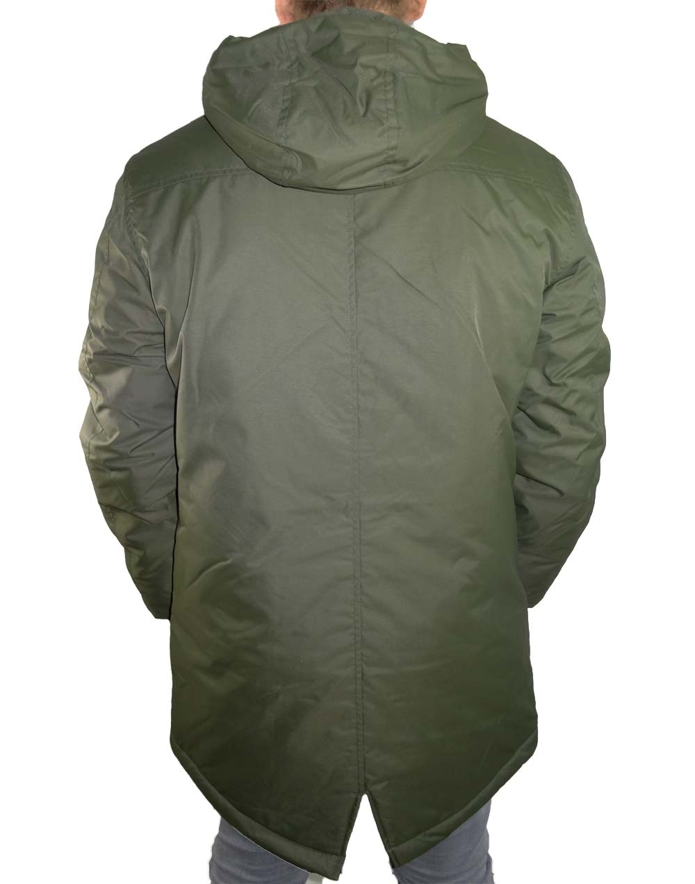 another chance 3fbfb a01d0 METAL - Winterjacke / Parka Herren - kaki - Shine Original