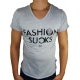 FASHION SUCKS - T-Shirt - grau - Boom Bap