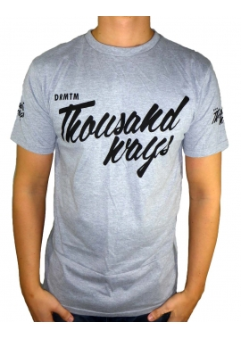 THOUSAND WAYS - T-Shirt - grau - DRMTM