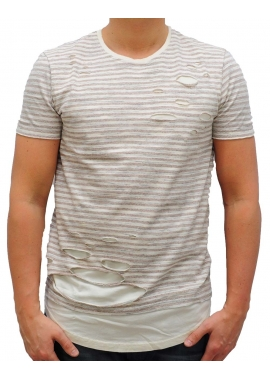 STANWOOD - T-Shirt - beige - Black Kaviar