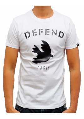 DOVE - T-Shirt - weiß - Defend Paris