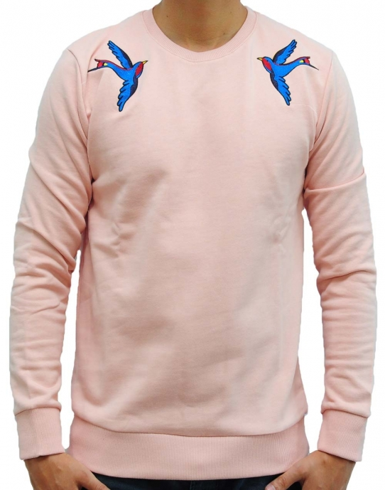 SWALLOWS - Sweatshirt - rosa - Criminal Damage