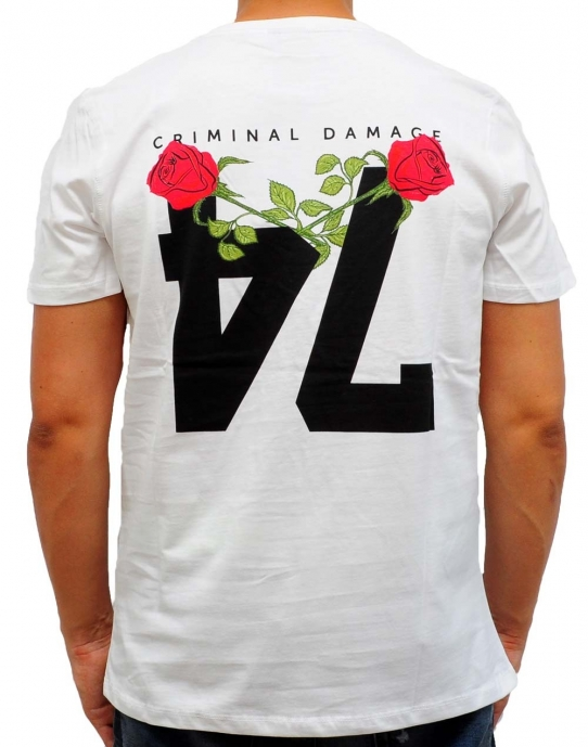 CALIBER - T-Shirt - weiß - Criminal Damage