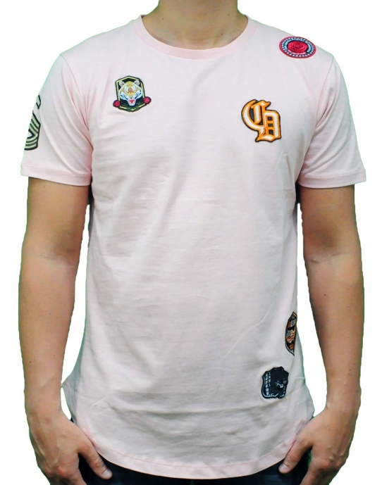 EMBLEM TEE - T-Shirt - rosa - Criminal Damage