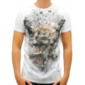 ROSE WINGS - T-Shirt - weiß - Religion