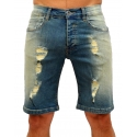 DENIM - Shorts Jeans - blau - RAW Recycled Art World