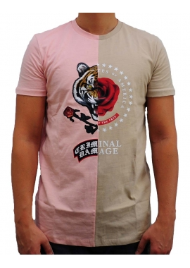 DUO - T-Shirt - beige - Criminal Damage