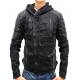 JOHN DENIM - Lederjacke - schwarz - Be Edgy
