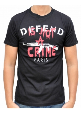 LOURGA - T-Shirt - schwarz - Defend Paris