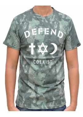 CO TEE - T-Shirt - grün - Defend Paris