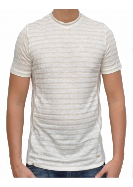 STRIPES - T-Shirt - beige - Hamaki Ho