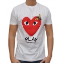PLAY - T-Shirt - weiß - Fakelab