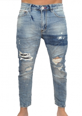 DISTRESSED - Jeans - blau - Gianni Lupo