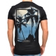 PALM SUNSET - T-Shirt - schwarz - Religion