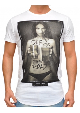 ONE FOR THE ROAD - T-Shirt - weiß - Religion