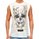 BIRD SKULL - Tank Top - weiß - Religion