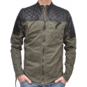 BEPURE - Jeansjacke - olive - Be Edgy