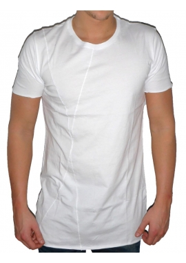 BASIC LONG TEE - Herren T-Shirt - weiß - Fame on you Paris