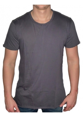 BASIC LONG TEE - Herren T-Shirt - anthrazit / grau - Fame on you Paris