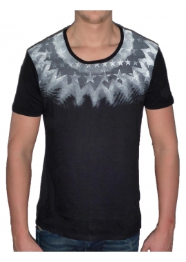 SUN STAR - Herren T-Shirt - schwarz - Fame on you Paris