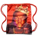 BIGGIE - Gym Bag Beutel - rot - Kream