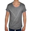 BUSTED CONTEMPORARY LINE - T-Shirt Herren - grau - Boom Bap