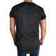 BUSTED CONTEMPORARY LINE - T-Shirt Herren - washed schwarz - Boom Bap