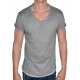 BUSTED CLEAN CONTEMPORARY LINE - T-Shirt Herren - grau - Boom Bap