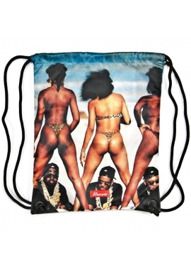 2 NASTY - Gym Bag Beutel - multi color - Kream