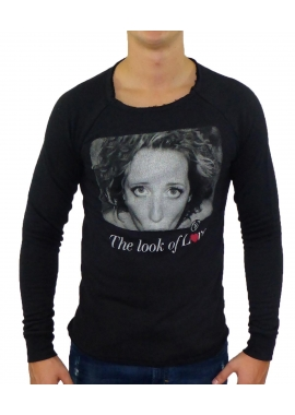 LOOK OF LOVE - Sweatshirt Herren - schwarz - Boom Bap