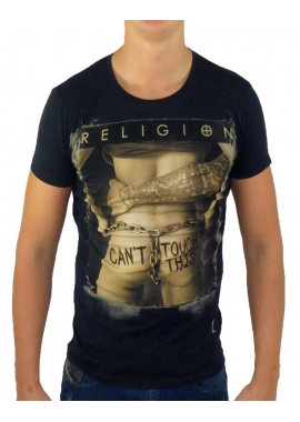 CANT TOUCH THIS - T-Shirt Herren - schwarz - Religion