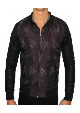 DRK GLDTR TEDDY - Herren Jacke - dunkel grau - Fame on you