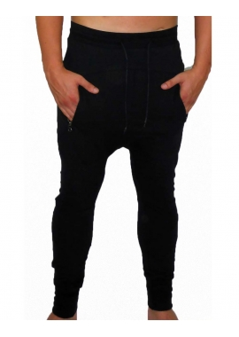 JERSEY JOGGER - Herren Jogginghose - schwarz - Fame on You