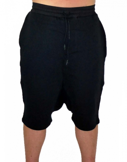 JERSEY JOGGER - Herren Jogginghose Short - schwarz - Fame on You