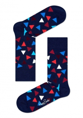 TRIANGLE SOCK - Socken Herren - dunkel blau - Happy Socks