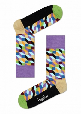 FILLED OPTIC SOCK - Socken Herren - hell lila - Happy Socks