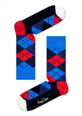ARGYLE SOCK - Socken Herren - dunkel blau - Happy Socks