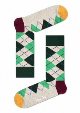 ARGYLE SOCK - Socken Herren - beige - Happy Socks