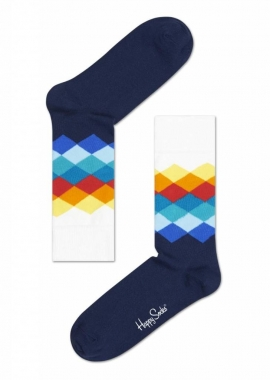 FADED DIAMOND SOCK - Socken Herren - bunt - Happy Socks