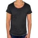 BUSTED CLEAN CONTEMPORARY LINE - T-Shirt Herren - washed schwarz - Boom Bap