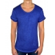 BUSTED CLEAN CONTEMPORARY LINE - T-Shirt Herren - washed navy blau- Boom Bap