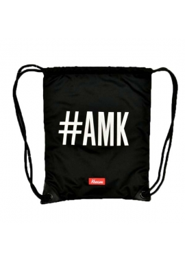 AMK REVERSIBLE - Gym Bag Beutel - schwarz - Kream
