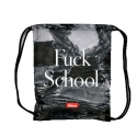 SCHOOLIGAN REVERSIBLE - Gym Bag Beutel - schwarz - Kream