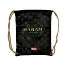 HARAM FOR LIFE REVERSIBLE - Gym Bag Beutel - braun / gold- Kream