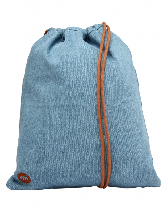 DENIM - Gym Bag Beutel - blau - Mi Pac