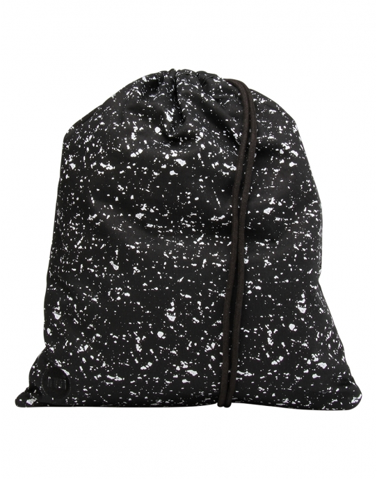 SPLATTERED - Gym Bag Beutel - schwarz - Mi Pac